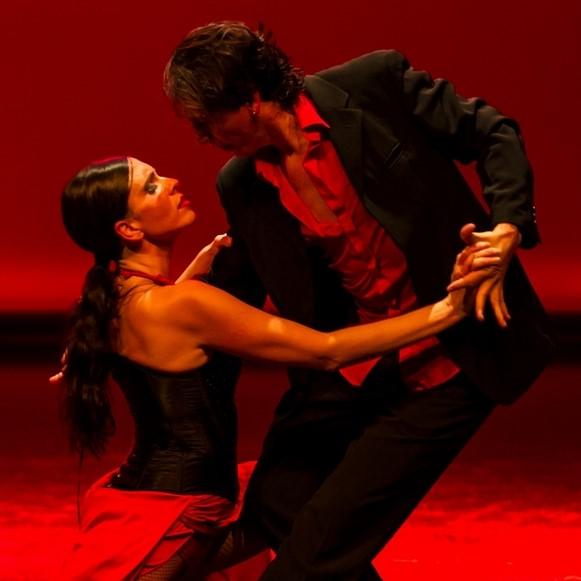 couple de danseur de tango